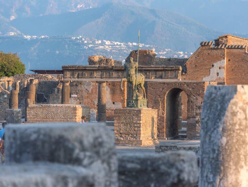 Pompeji Vesuv