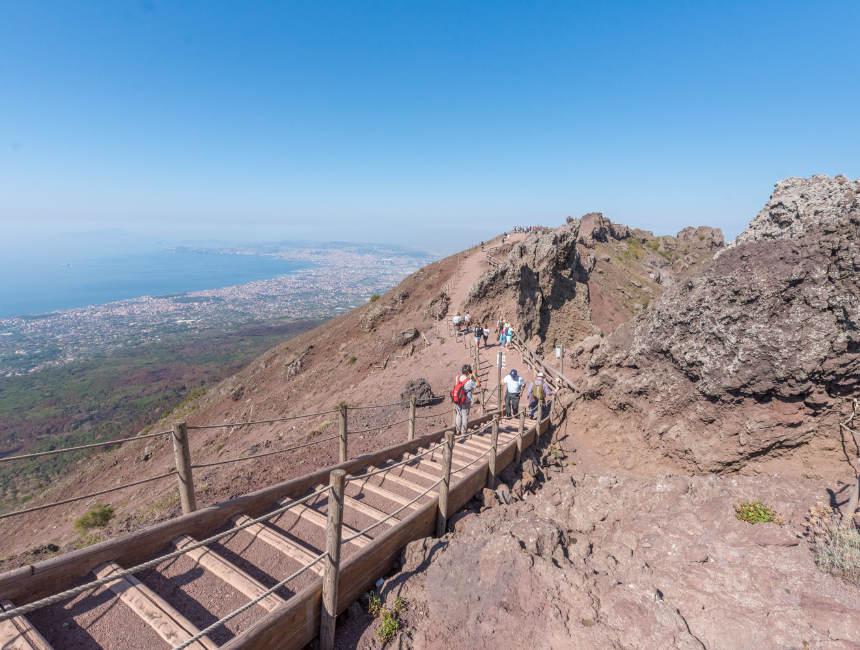 Vesuv besuchen Neapel Ausflüge
