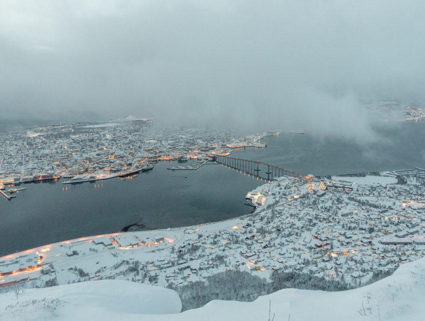 Aussich Fjellheisen Tromso Aktivitäten