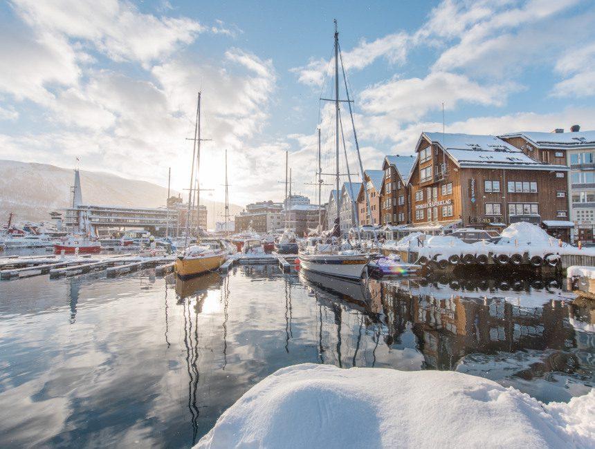 Hafen Tromso