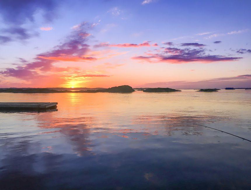 Mitternachtssonne Norwegen