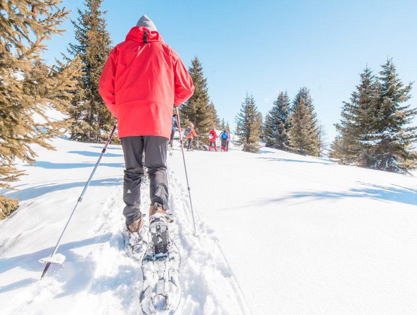 Schneeschuhwanderung Norwegen