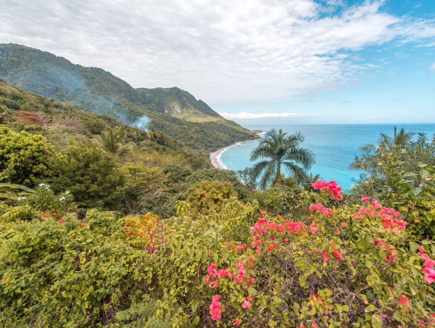Enriquillo Coastal Highway Dominikanischen Republik Highlights