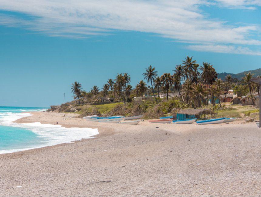 Los Patos Enriquillo Coastal Highway Dom Rep
