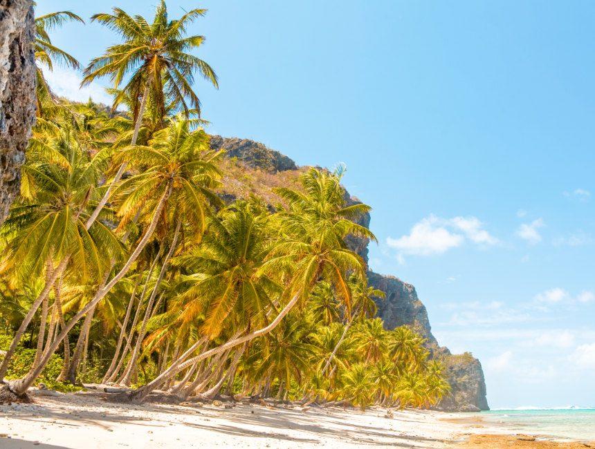 Playa Fronton Samana Dom Rep