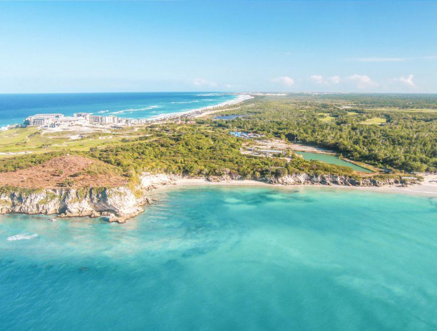 Aussicht Punta Cana Hubschrauber