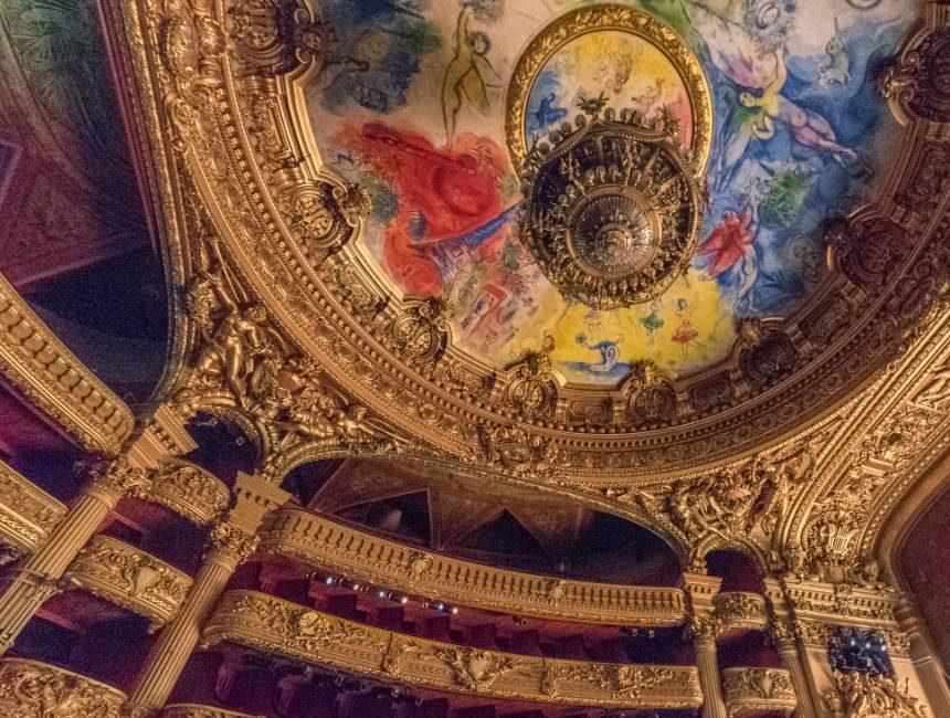 Konzertsaal Opera Garnier
