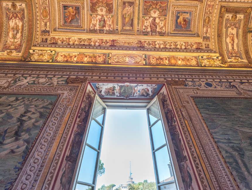 Galleria delle Carte Geografiche Vatikanische museen Kunstwerke