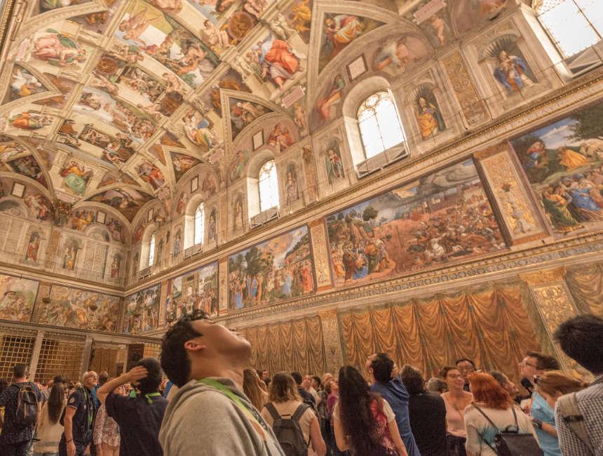 Sixtinische Kapelle Vatikanische museen rundgang