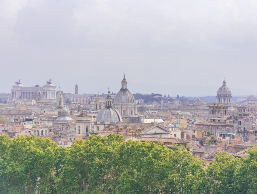 Aussicht Castel Sant Angelo