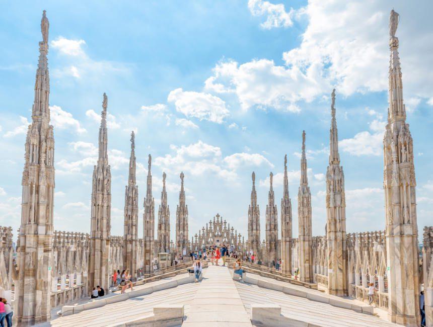 Kathedrale Mailand Dachterrasse