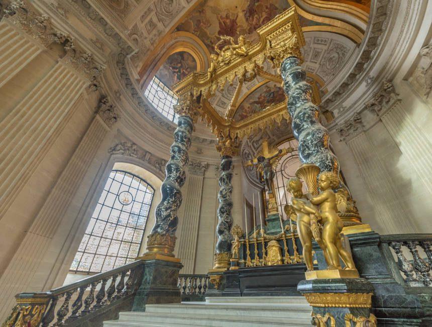 Napoleons Grab im Invalidendom Paris