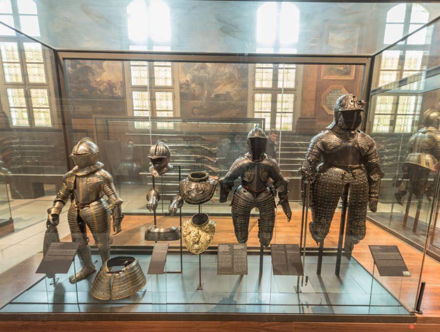Rüstung Ludwig XIV Invalidendom Paris