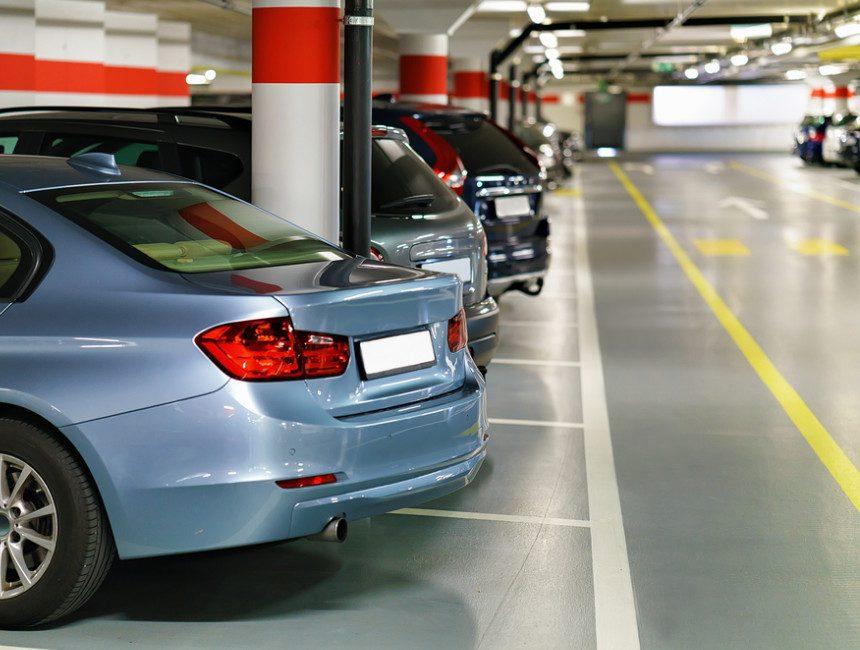 Bruessel Airport Parkplatz