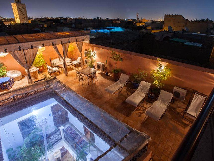 Hotel riad Marrakesch thycas