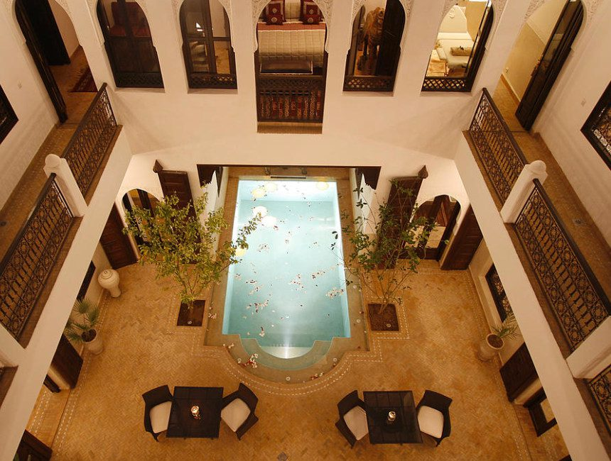 riad marrakesch mit pool assakina