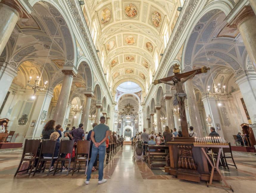 cattedrale di san lorenzo Trapani Altstadt
