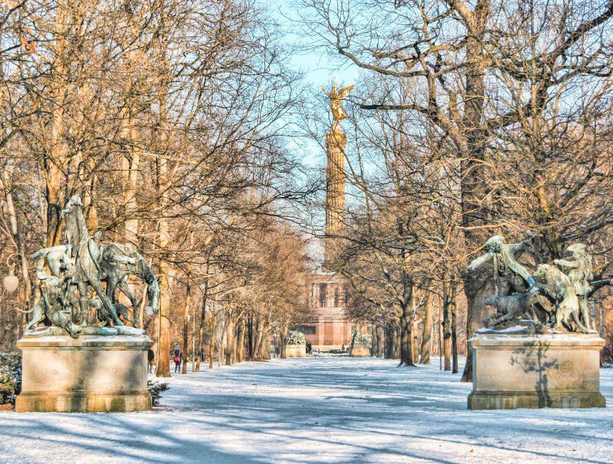 Tiergarten was zu sehen in berlin