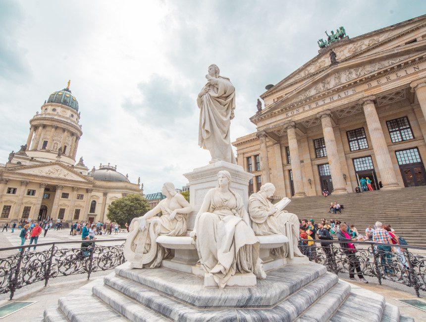 Wichtigste Sehenswürdigkeiten Berlin Gendarmenmarkt
