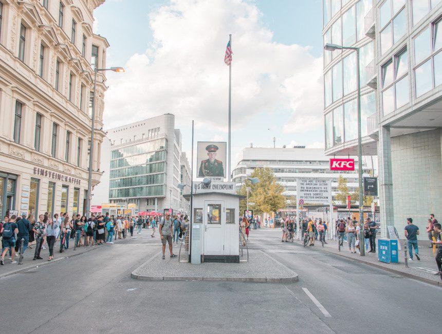 Aktivitäten Berlin Checkpoint Charlie