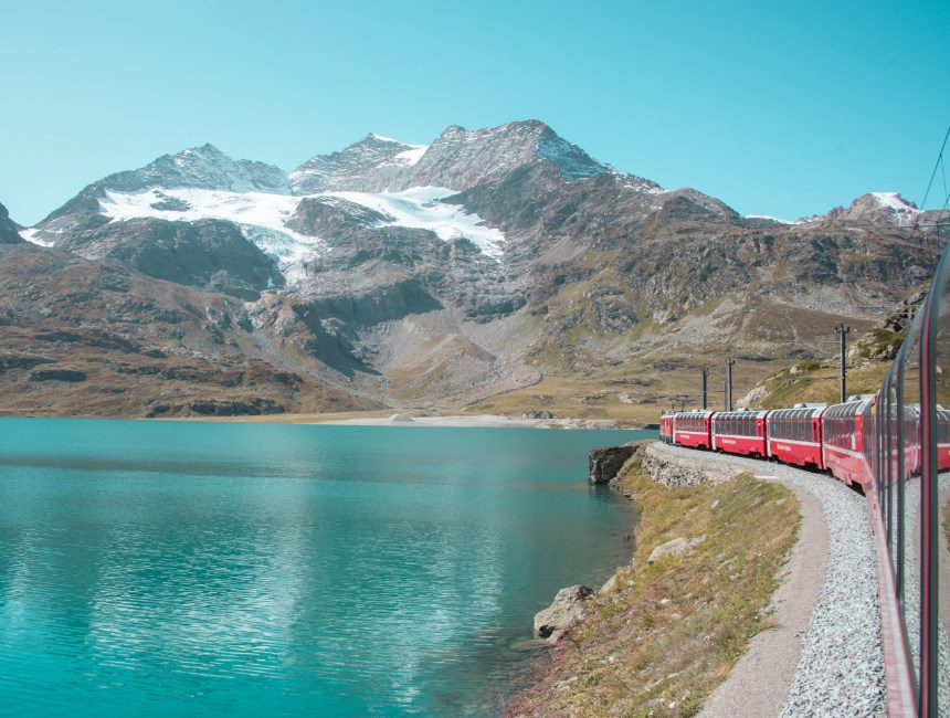Bernina Express tageausflug Milano