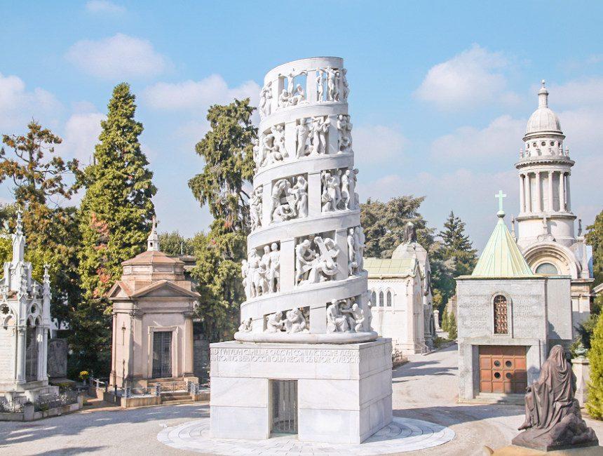 Mailand Sehenswuerdigkeiten cimitero monumentale