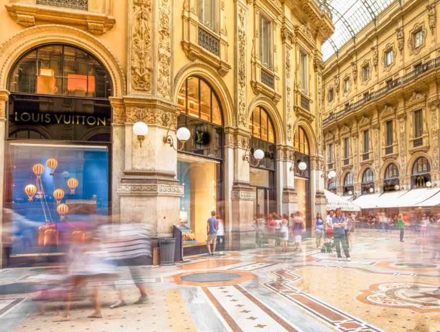 Mailand shopping