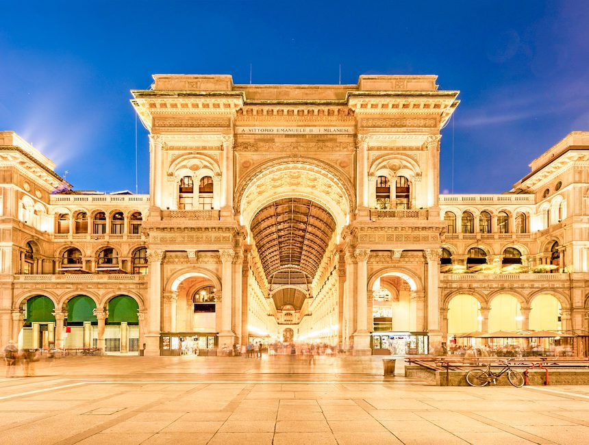 kostenlose sehenswürdigkeiten mailand Galleria Vittorio Emanuel II