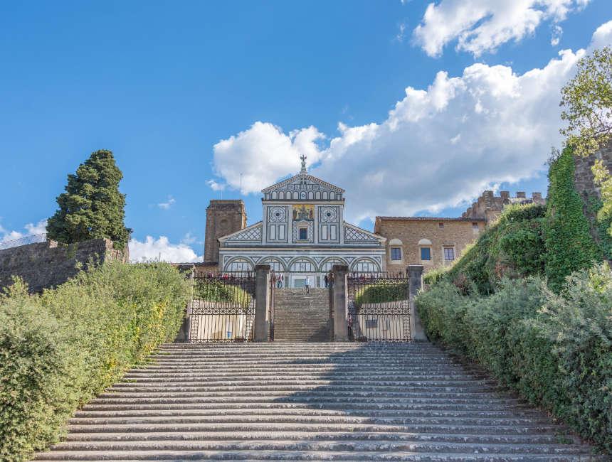 Basilica San Miniato al Monte Sehenswürdigkeiten Firenze