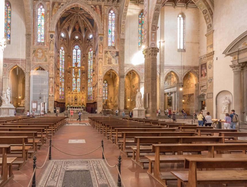 Basilica di Santa Croce Sehenswertes in Florenz
