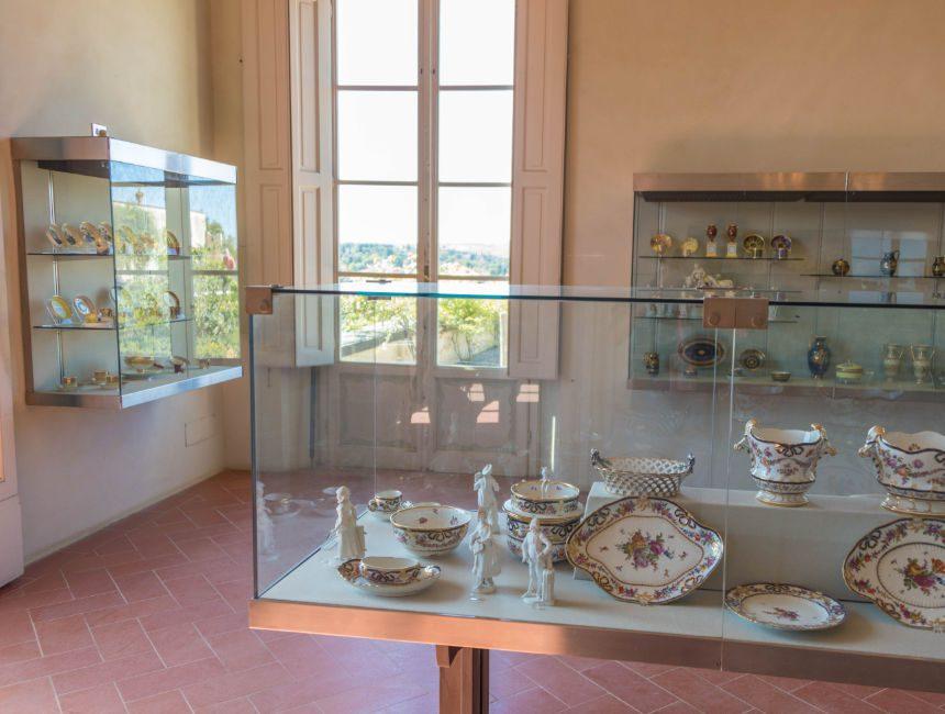Porzellanmuseum boboli garten Florenz