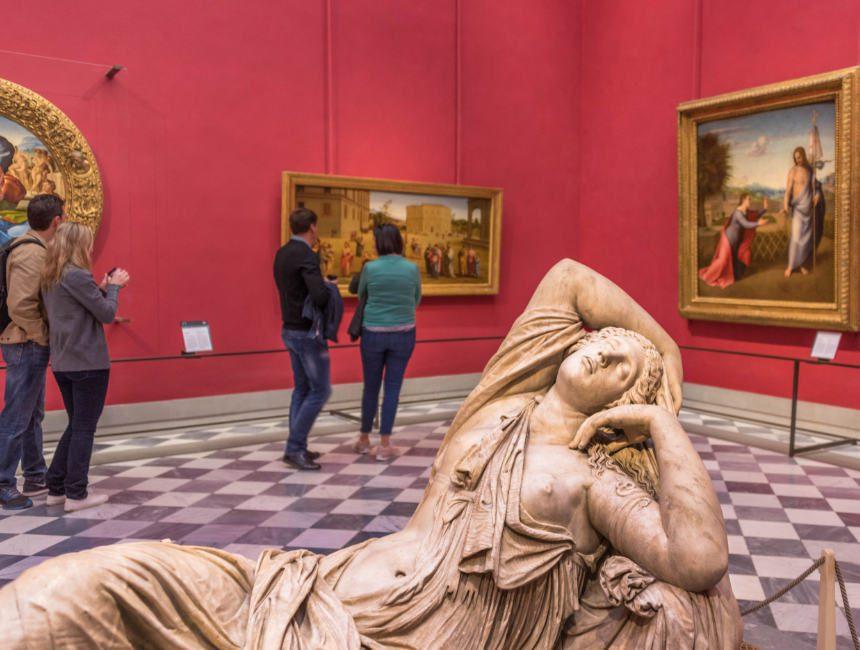 uffizi museum Florenz Attraktionen