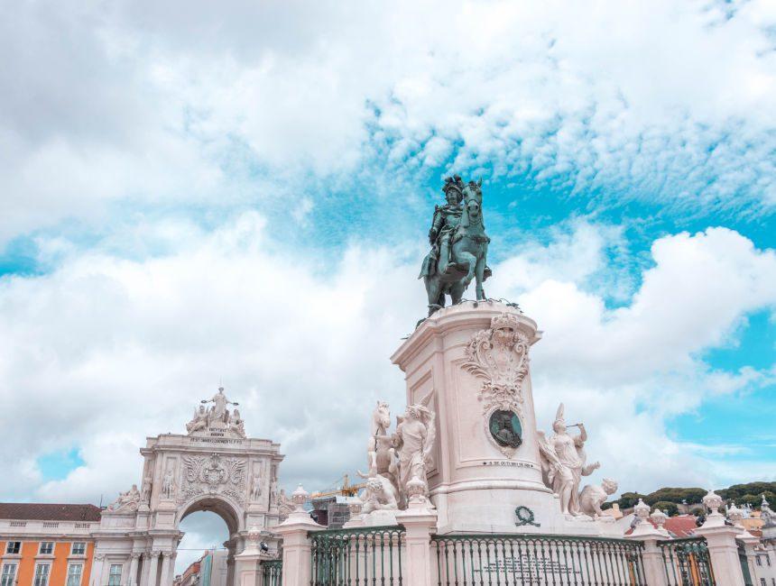 Arco do Triunfo Lissabon sehenswuerdigkeiten