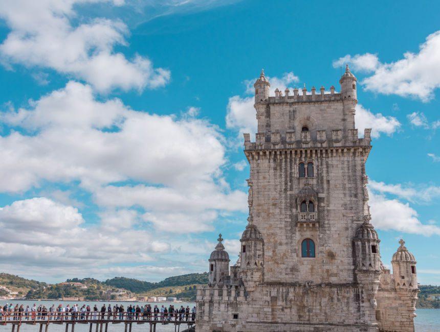 Turm von Belém Lissabon Sehenswuerdigkeiten