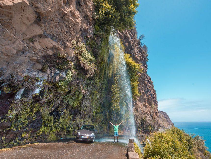 Wasserfallweg Madeira Attraktionen