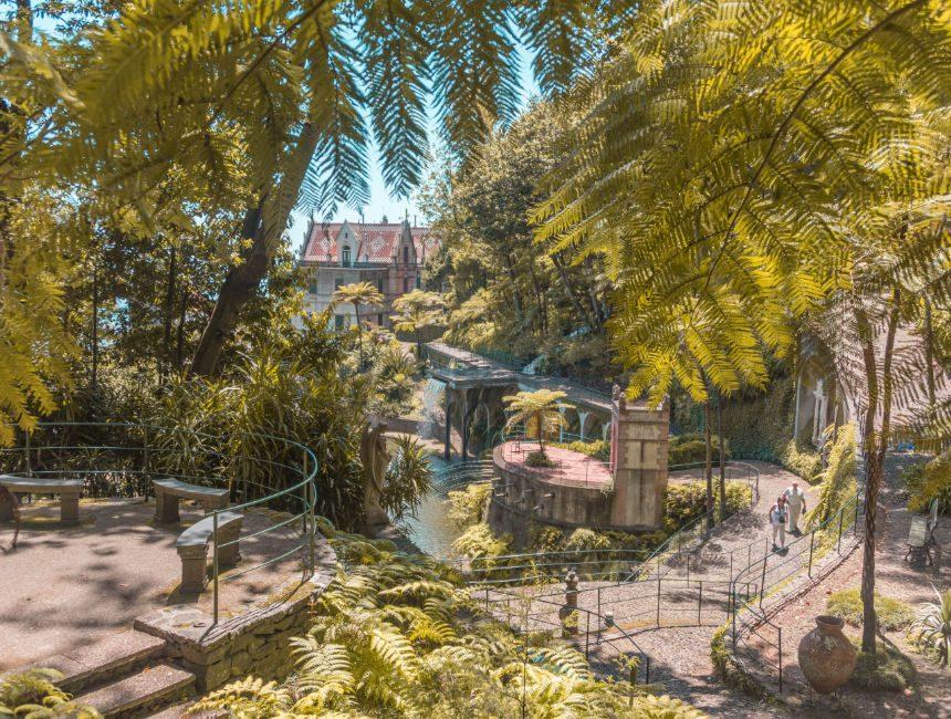 monte palace Botanischer garten Madeira