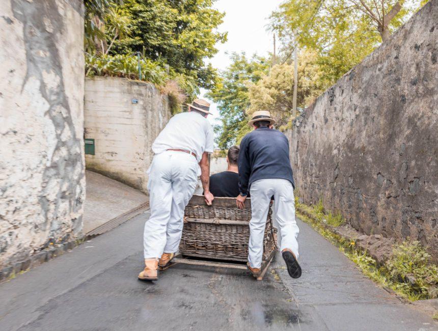 toboggan Fahrt Madeira
