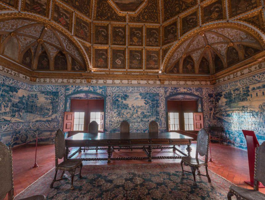 Nationalpalast von Sintra Sala dos Brasoes