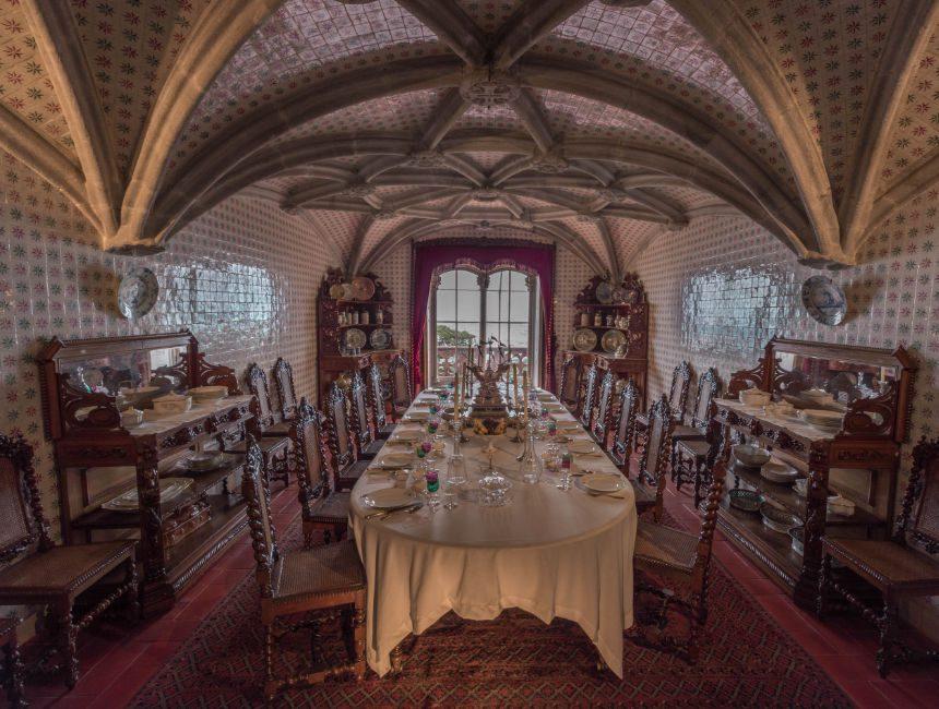 Pena Schloss Sintra Inneneinrichtung