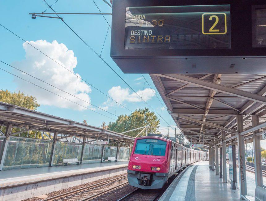 Sintra Lissabon Zug
