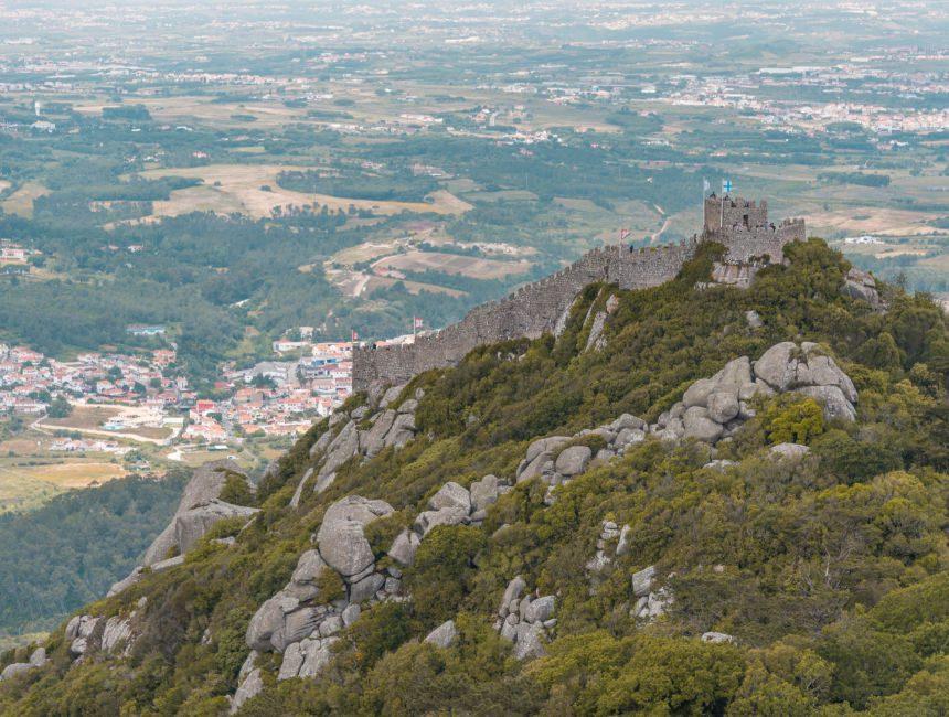 castelo dos mouros sintra Lissabon