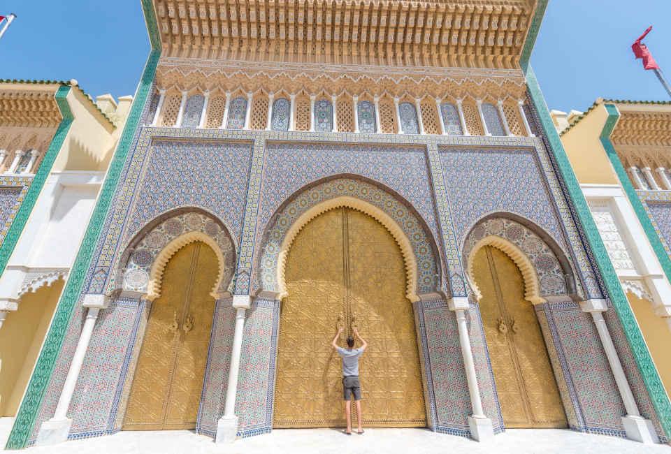 royal palace fez round trip morocco