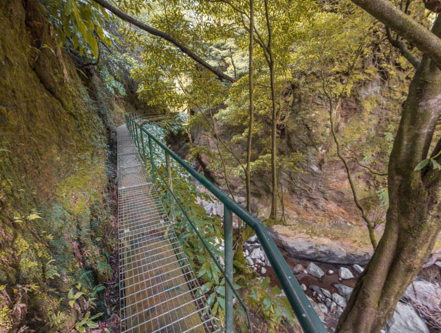 Weg zum Salto do Cabrito