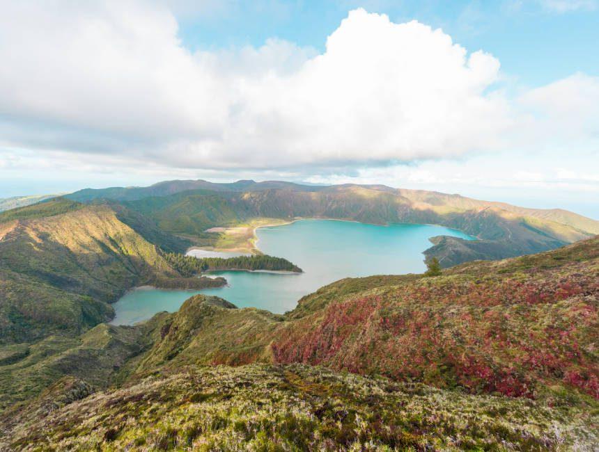 Lagoa do Fogo Sao Miguel sehenswürdigkeiten Azoren