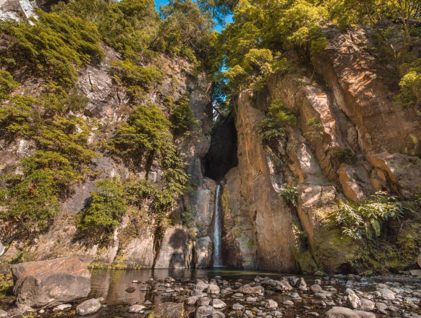 Salto do Cabrito Wasserfall Azoren