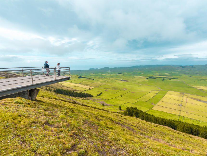 Serra da Cume Aussichtspunkt Terceira Sehenswürdigkeiten